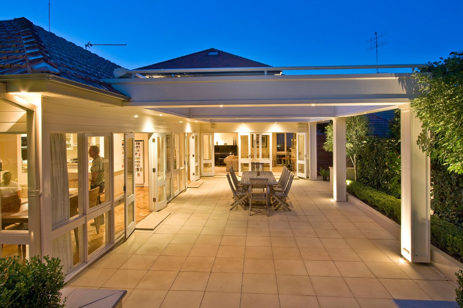 Pergola retractable awning Northbridge - Better By Design ...